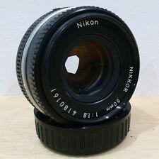 Nikon NIKKOR 50mm 1:1.8 Ai-S PANCAKE  Prime Lens FILM & Digital fit.