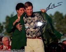 Ben Crenshaw Masters 95 Win signed 11x14 photo- Augusta National Texas Longhorns
