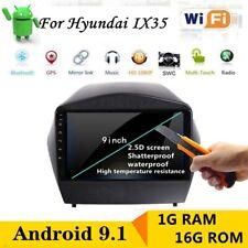 For Hyundai Tucson Ix35 Android 9.1 Car Radio DVD Stereo Player GPS Navigation