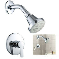 1/2′′ Spray Shower Faucet Kit With Hot/Cold Control Handle Valve Wall Mounted