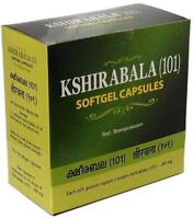 Ayurvedic Kshirabala (101) Softgel Capsules By Arya Vaidya Sala Free Shipping