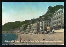 VARIGOTTI (Savona) - Albergo Stella Azzurra e spiaggia- VG. anni '50/'60