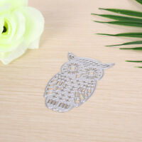 Owl Metal DIY Cutting Dies Stencil Scrapbook Album Paper Card Embossing Craft DD