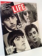 LIFE MAGAZINE 1995 REUNION SPECIAL THE BEATLES FROM YESTERDAY TO TODAY