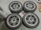 "Enkei 17"" RPF1 Subaru Wheels 5x100 ET45 17x8 Silver (4) - BRZ w/Brembo Brakes"
