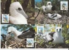 WWF 4 x Card - Christmas Islands 1990 - Vogels / Birds (058)