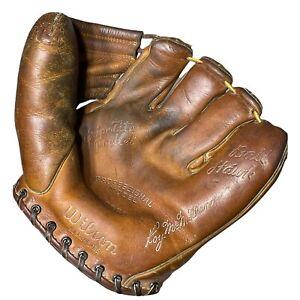 Vintage Wilson Roy McMillan RH Baseball Glove A2960 Fielder Ball Hawk