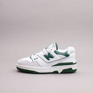 New Balance Lifestyle 550 White Green Basketball Classic Men Shoes Rare BB550WT1