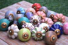 "Ceramic Door Drawer Knobs Cupboard Pulls Handles Kitchen Knob ""New Gift"""