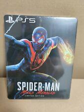 Marvel's Spider-Man: Miles Morales - Steelbook - Custom - new - NO GAME -