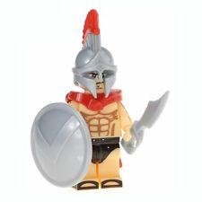 Soldat Grec Héros de Sparte mini figurine personnage  + arme