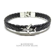Bracelet Lederbinde Alpha Aviator Deluxe.