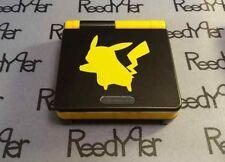 Pikachu Gameboy Advance SP PICK A COLOR Yellow AGS-101 *MINT* Pokemon Nintendo