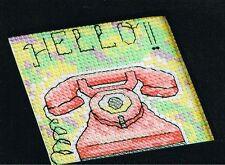 Joanne Sanderson Cross Stitch pattern from magazine - RING ME BACK! - telephone