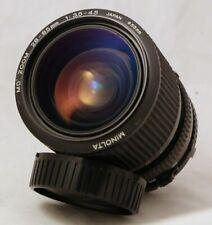 Minolta 28~85mm f/3.5 Macro Lens X-700 X-370 X-570 SRT202 101 XD-11 XD5 Nr Mint