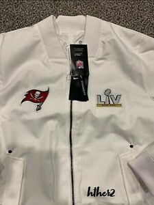 Tampa Bay Buccaneers Nike Super Bowl LV Bound Diamond Coach Full-Zip Jacket