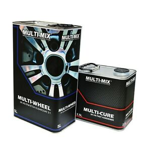 MULTIMIX MULTI WHEEL 2K CLEARCOAT KIT / DIRECT TO METAL / PLASTIC