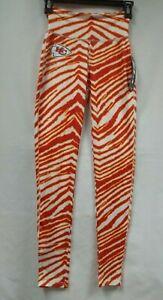 Kansas City Chiefs Women's Zebra Stripe leggings - Size XSmall - New