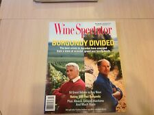 Wine Spectator November 15 1996 Burgundy Divided  rating 1994 burgundy