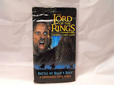 LORD OF THE RINGS TCG BATTLE FOR HELM'S DEEP SEALED BOOSTER PACK OF 11 CARDS