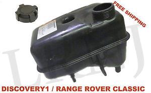 LAND ROVER RANGE ROVER CLASSIC COOLANT OVERFLOW RESERVOIR BOTTLE TANK & CAP KIT