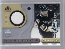 2005/06 LARRY MURPHY HERITAGE CLASSIC GAME USED JERSEY CARD 035/100