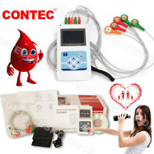 Sistemi dinamici portatili ECG 3 analizzatore 24h + software USB PC