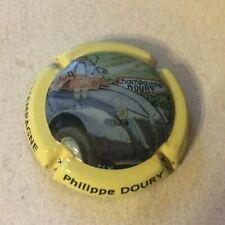 Capsule de champagne DOURY Philippe (100a. 2 CV contour jaune)