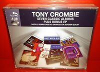 4 CD TONY  CROMBIE - 7 CLASSIC ALBUMS PLUS - NUOVO NEW