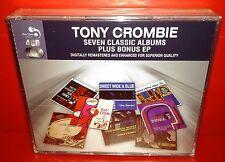 4 CD TONY  CROMBIE - 7 CLASSIC ALBUMS PLUS - NUOVO NEW