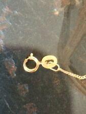 Collar Cadenilla de oro de 18ct