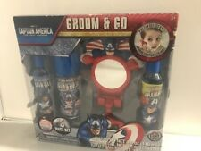 Disney Pixar Cars Groom & Go - Marvel Studios Captain America 5 Piece Set