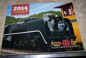 MTH ELECTRIC TRAINS Catalog - 2014 - Volume Two  - EUC!