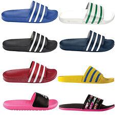 Flache adidas Damen-Sandalen & -Badeschuhe aus Synthetik für den Strand