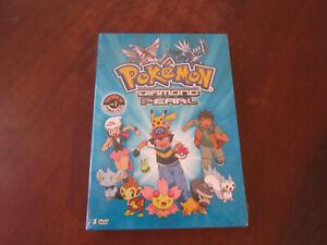 POKEMON DIAMOND AND PEARL -Saison 10 Volume 1 Episodes 1 à 26 - Coffret DVD Neuf