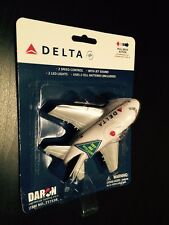 DELTA AIRLINES MODEL AIRCRAFT Toy with Engine Noise