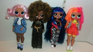 4 LOL Surprise OMG Fashion Dolls Series 1? SWAG Lady Diva Royal Bee Neon