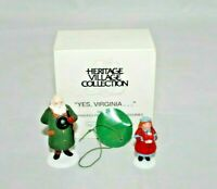 Dept 56 Heitage Yes Virginia Accessory Set of 2 58890