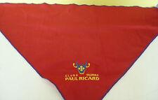 FOULARD RICARD , CLUB TAURIN PAUL RICARD , COULEUR ROUGE , OR270 *