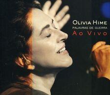 Olivia Hime - Palavras de Guerra Ao Vivo [New CD]
