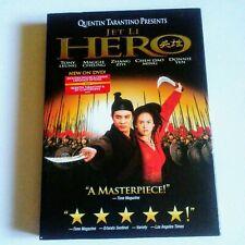 Hero Jet Li Quentin Tarantino Dvd