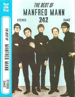 MANFRED MANN THE BEST OF  IMPORT SAUDI 747 CASSETTE ALBUM 17 TRACKS COMPILATION
