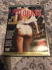 ELITE I SPIT ON YOUR GRAVE aka DAY OF THE WOMAN UNCUT REGION 1 DVD RARE & OOP