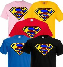 009a33b7 Superman Crew Neck T-Shirts & Tops (2-16 Years) for Boys for sale | eBay