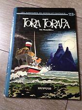 tora torapa EO (1973) SPIROU ET FANTASIO par Fournier dos rond côte BDM + 30e