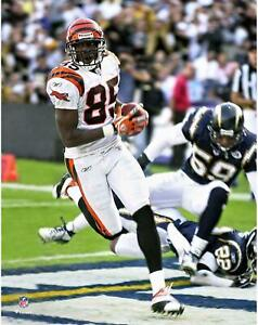 "Chad Johnson Cincinnati Bengals Unsigned Action Touchdown 11"" x 14"" Photo"