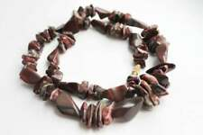 Necklace for Adults #519 Reversible rough and smooth Jasper