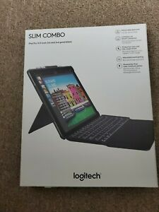 Logitech iPad Pro 12.9 in. Slim Combo Detachable Wireless Keyboard Case | Black