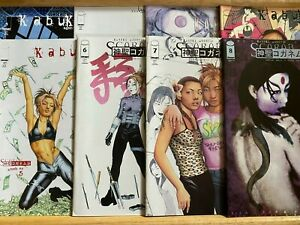 Kabuki Agents Scarab (1999) ISSUES #1 THRU 8 COMPLETE. EXCELLENT CONDITION. HTF!