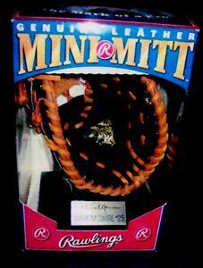 MARK MCGWIRE GENUINE LEATHER MINI MITT RAWLINGS  1991 UNOPENED